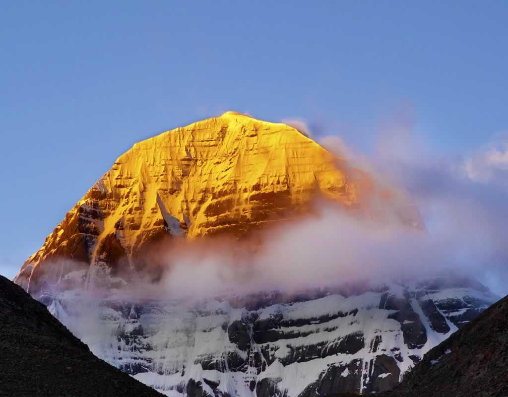 Mount Kailash sunrise
