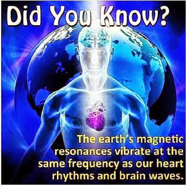 EMF Protection Earth Magnetic Resonance Heart Brain