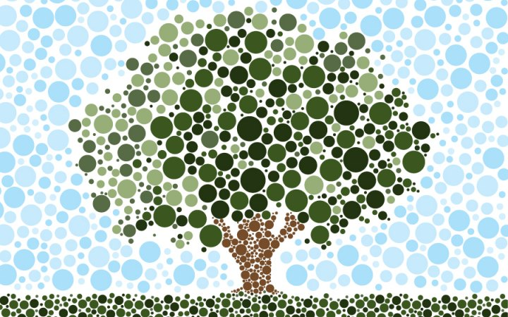 Tree Pointillism