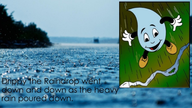 Drippy the Raindrop River