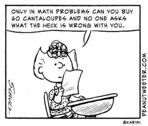 Math Sally Cantaloupes