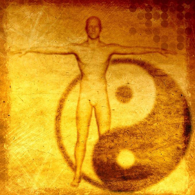 Yin Yang Symbol Person