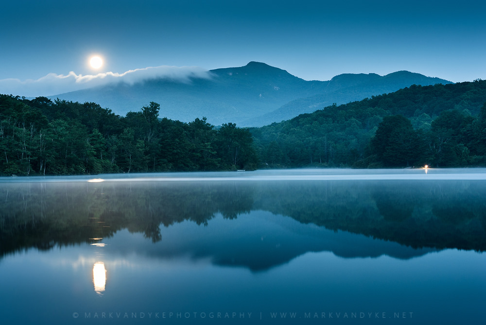 Moon Lake Reflection
