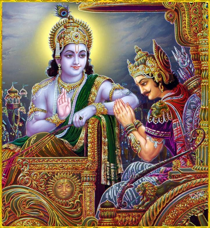 lord krishna and arjuna relationship with god