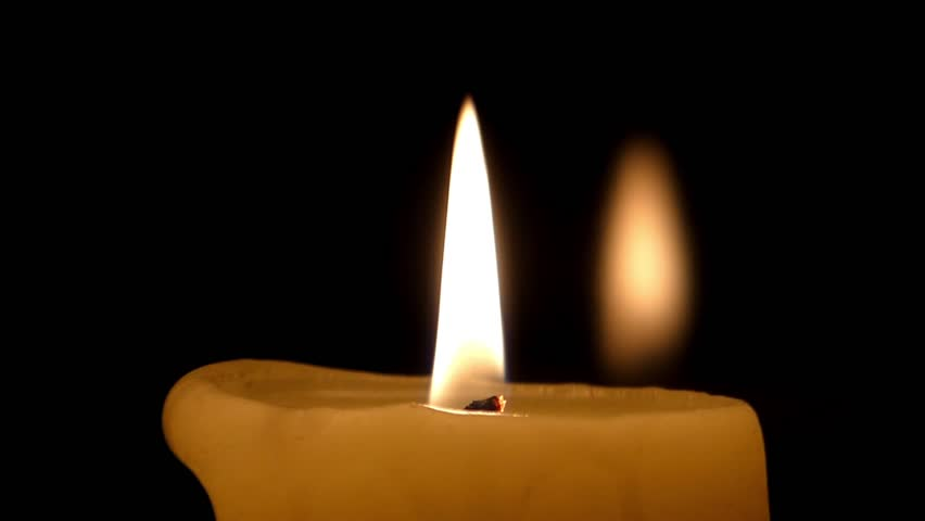Candle Flame & Reflection