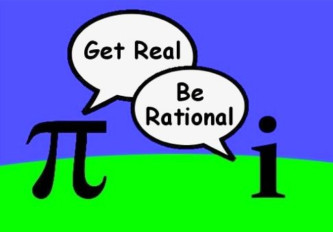 Pi and Imaginary Numbers Get Real Be Rational