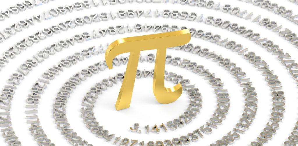 Pi Number Spiral