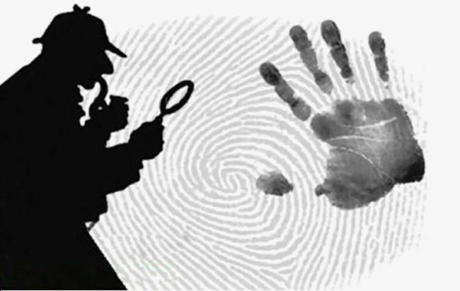 Sherlock Holmes fingerprints