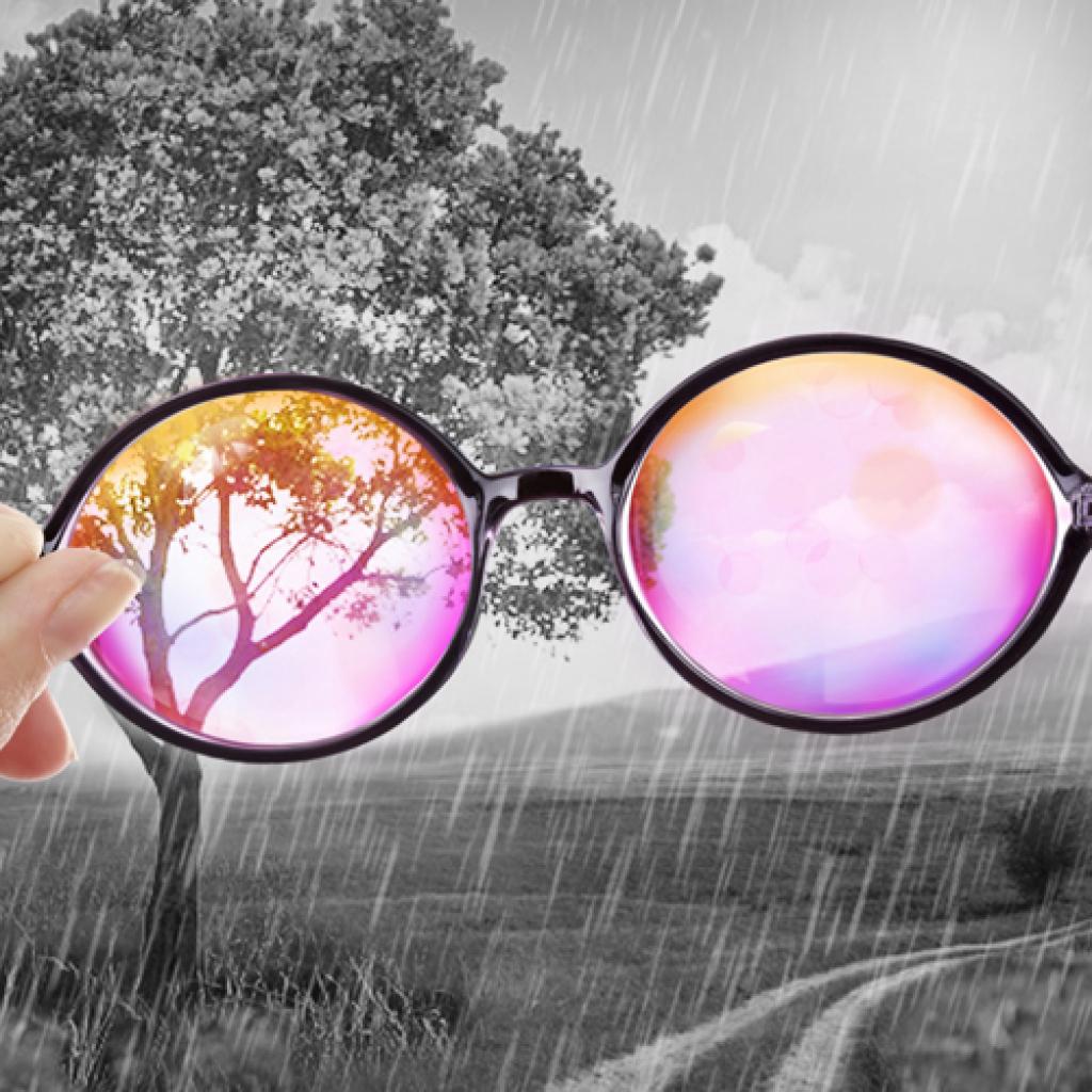 Women's Eyeglasses - Fancy-Pants in Black Tie Tweed ... |Rose Colored Glasses Readers