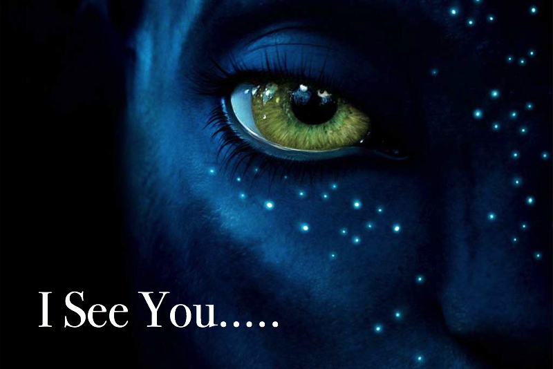 Avatar movie: I see you