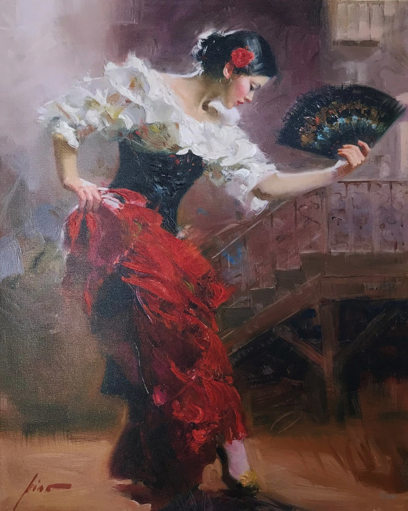 Spanish Dancer painting