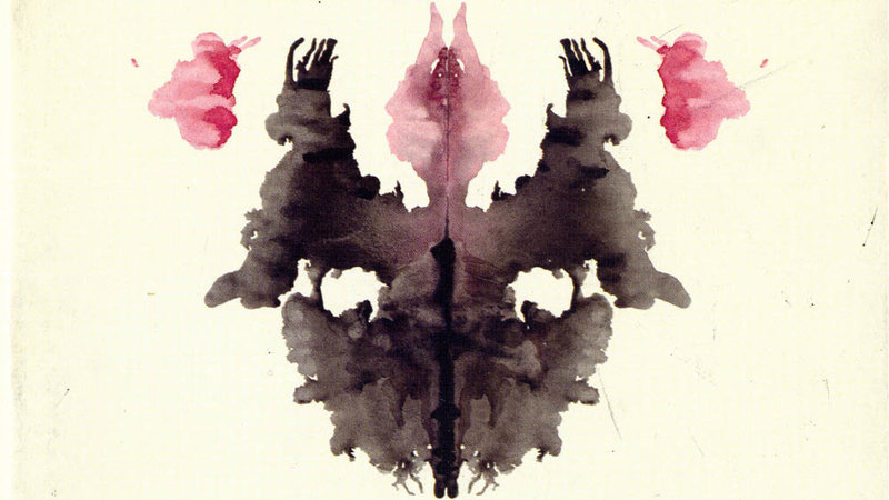 Rorschach ink blot