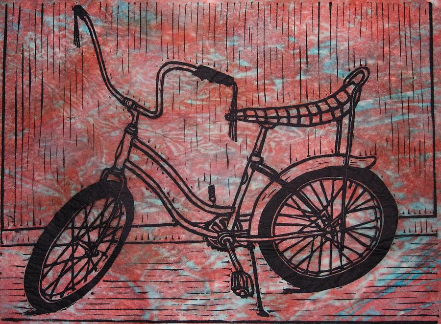 banana seat bike red