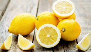 lemons sliced and whole